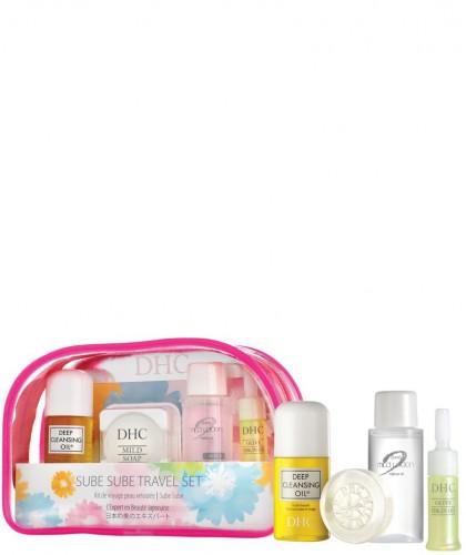 DHC skincare Sube Sube Tavel Set Olive Essentials Hautpflege Reiseset