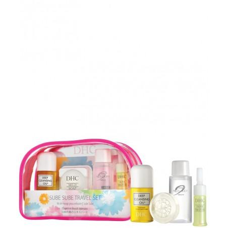 DHC Trousse voyage Sube Sube Skincare l'expert en beauté japonais cosmétique naturel peau sensible