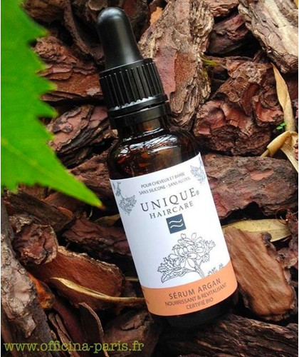 UNIQUE Haircare Argan Hair Oil organic cosmetics