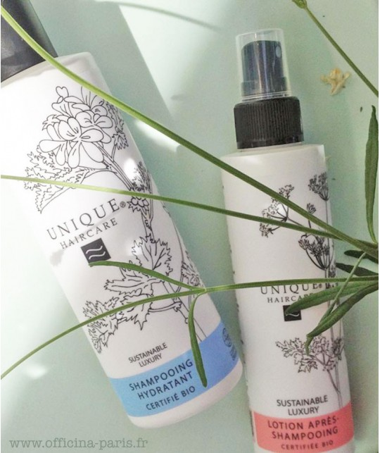 UNIQUE Haircare Leave-In Conditioner cornflower organic cosmetics spray
