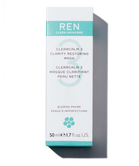REN soin visage naturel Masque  clarifiant Peau Nette imperfections acné végétal cosmétique teint bio naturel purifier acne