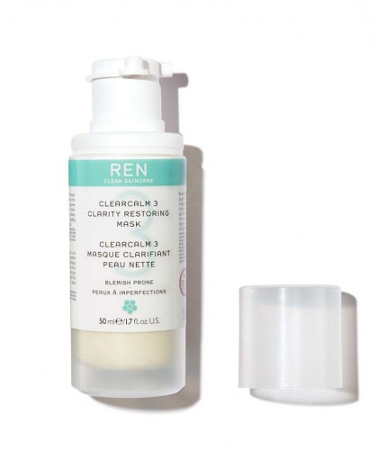 REN ClearCalm 3 Clarity Restoring Mask clean skincare acne