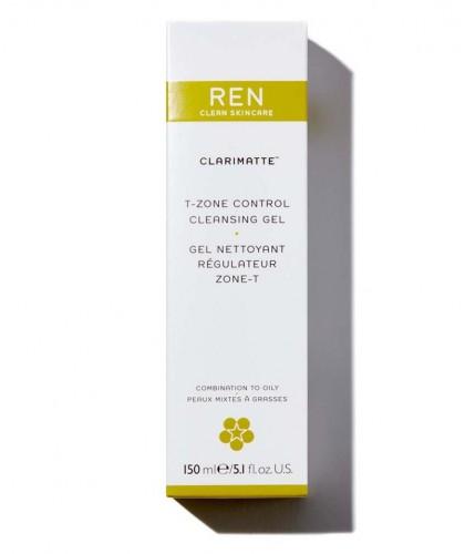 REN Clarimatte T-Zone Control Cleansing Gel