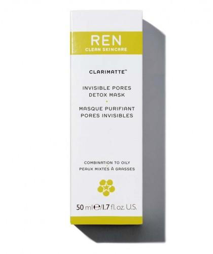 REN Clarimatte naturel Masque Purifiant peau acnéique soin visage végétal naturel plantes flacon pompe Clarimatte