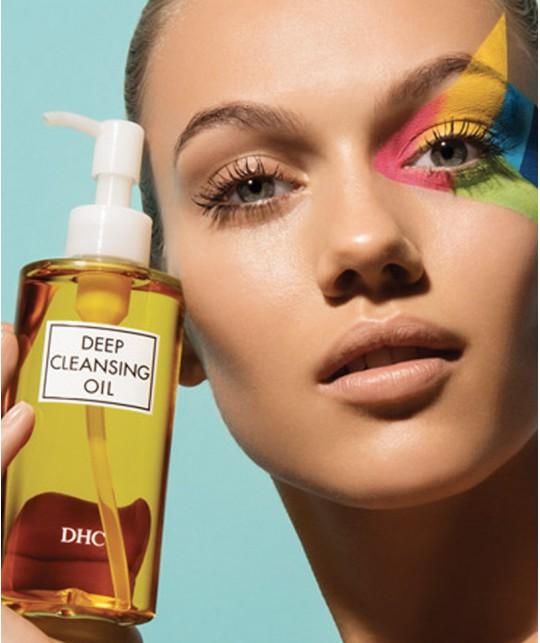 DHC Skincare Huile Démaquillante beauté green naturel expert en beauté japonaise
