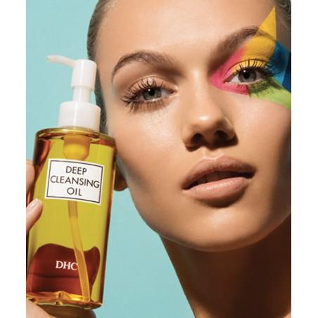 DHC Skincare expert en beauté japonaise Huile Démaquillante moderne beauté green naturel
