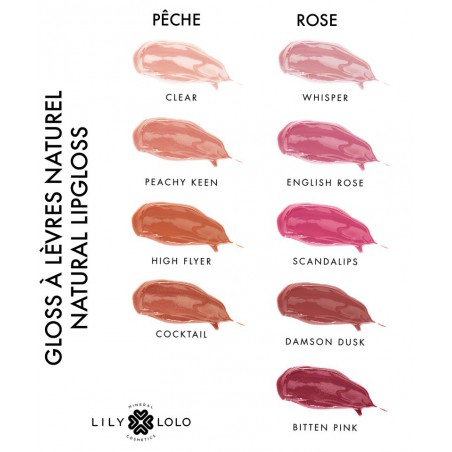 Lily Lolo Natural Lip Gloss Whisper mineral cosmetics
