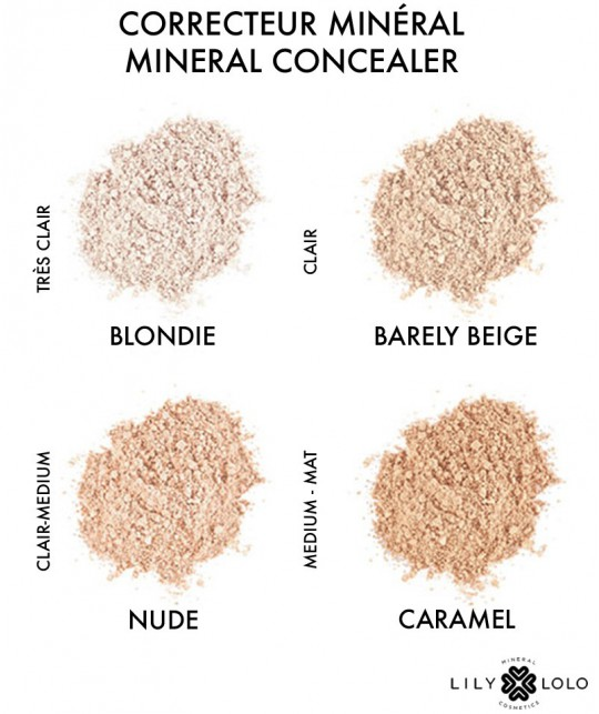 Lily Lolo Mineral Concealer Barely Beige cosmetics natural beauty swatch