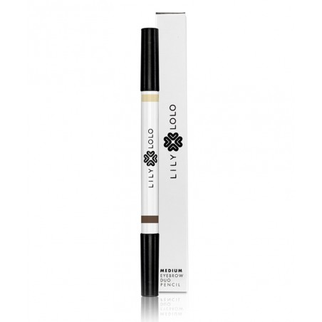 Lily Lolo Crayon Duo Sourcils Naturel - teinte medium maquillage minéral -