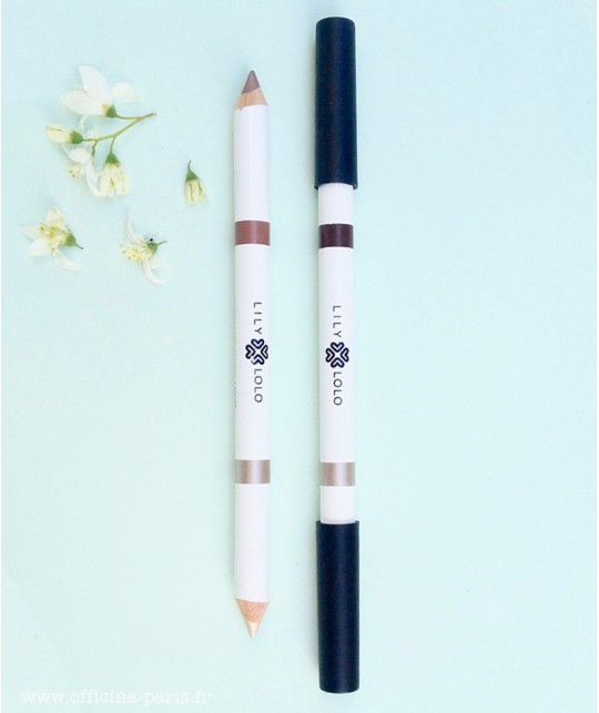 Lily Lolo - Augenbrauenstift Eyebrow Pencil Duo 2in1 Naturkosmetik vegan