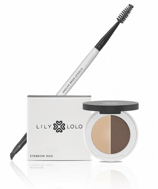 Lily Lolo maquillage minéral - Duo Sourcils Naturel fixer et illuminer le regard