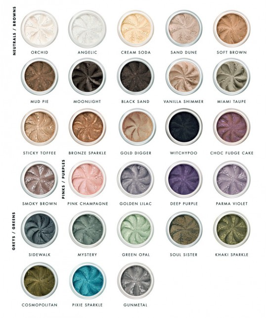 Lily Lolo Mineral Eye Shadow clean colors green cosmetics natural beauty