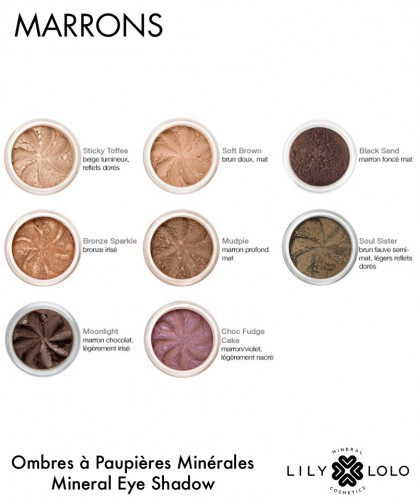 Mineral Eye Shadow Lily Lolo brown