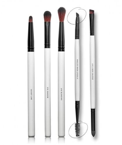 LILY LOLO Dual-Funktionspinsel Augenbrauen & Wimpern Angled Brow Spoolie Brush mineral cosmetics