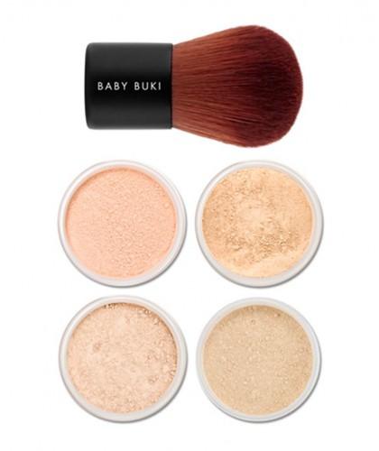 Lily Lolo maquillage minéral teint poudre libre pinceau peau acnéique sensible imperfections découverte