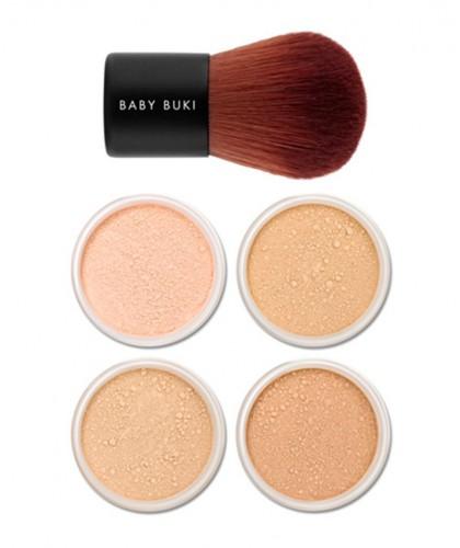 Lily Lolo Mini Kit Coffret Fond de Teint Minéral peau mate sensible mature acnéique maquillage imperfections tester essai