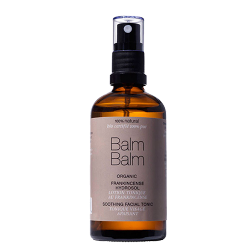 Balm Balm organics - Tonique Visage Apaisant à l'Encens (spray 100ml)