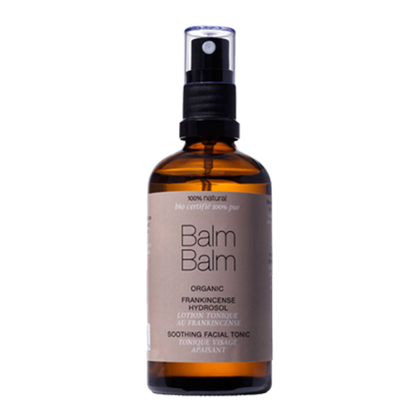 Balm Balm organics - Tonique Visage Apaisant à l'Encens (spray 100ml)