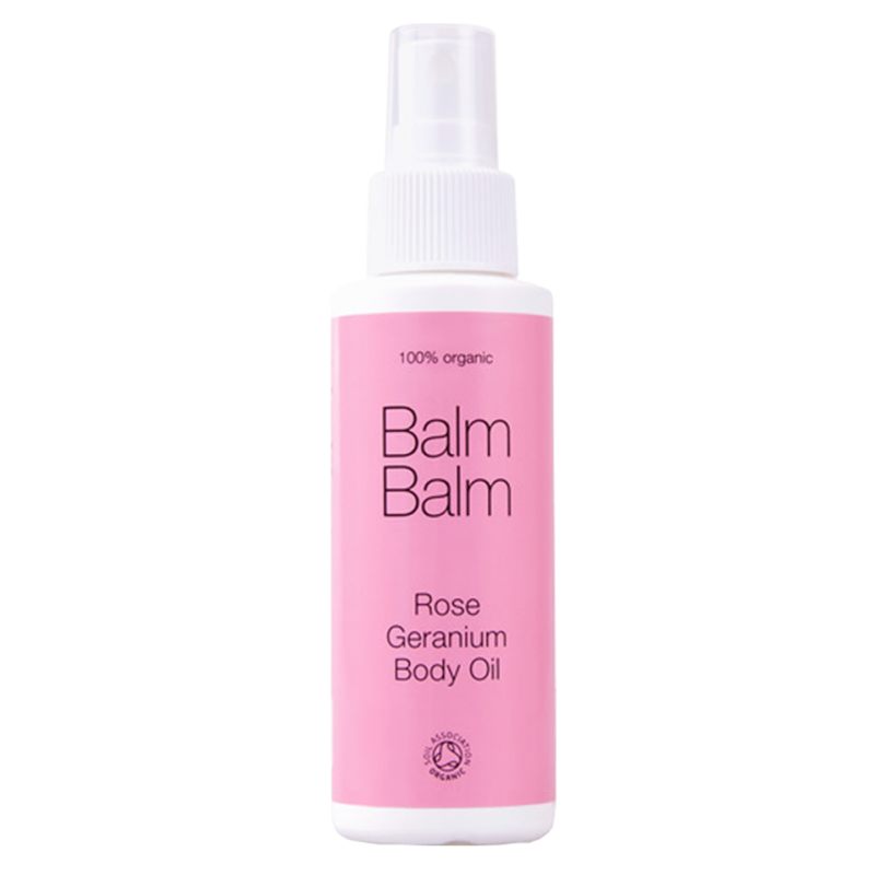 Balm Balm organics - Huile pour le Corps bio Géranium Rosat
