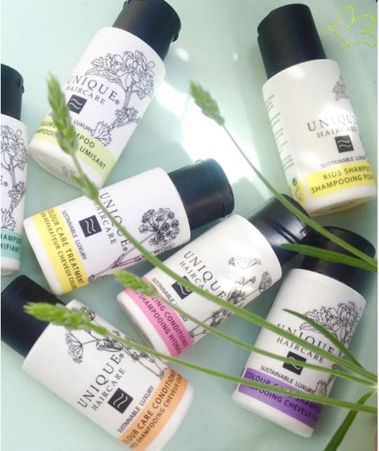 UNIQUE Haircare Tiefenreinigendes Shampoo Kornblume 50ml mini Naturkosmetik