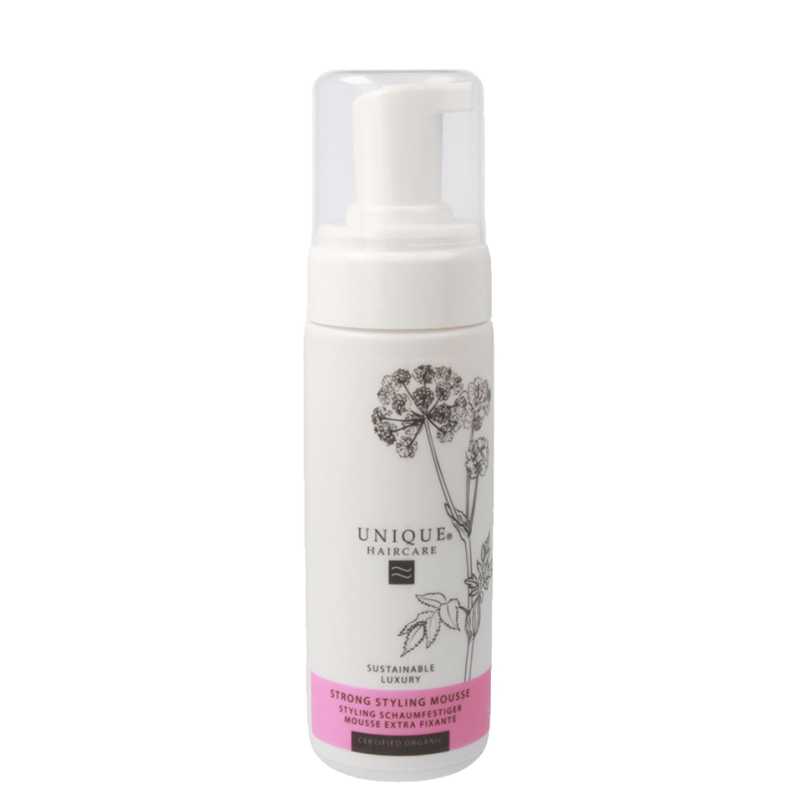 UNIQUE Haircare Strong Styling Mousse organic cosmetics