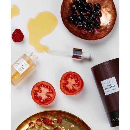 Madara  Huile Soin Visage bio SUPERSEED naturel plantes cosmétique végétale tomate framboise fraise fruits elixir peau fatiguée