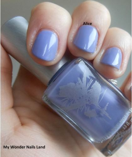 Priti NYC Natural Nail Polish 498 Day Flower Blue Green Beauty Vegan