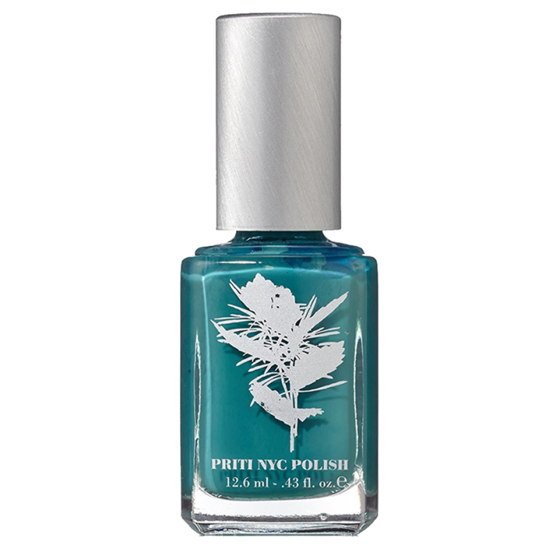 Priti NYC - Vernis à Ongles Flowers - Tulip Tree Teal