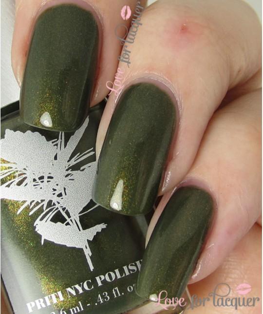 Priti NYC non toxic Nail Polish 513 Californian Lilac