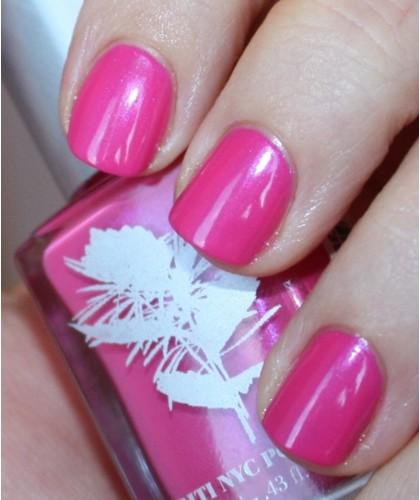 Priti NYC Natural Nail Polish 244 Hula Girl Rose swatch