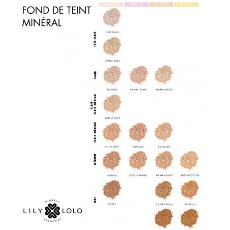 Lily Lolo Fond de Teint Minéral 18 teintes pour toutes les carnations