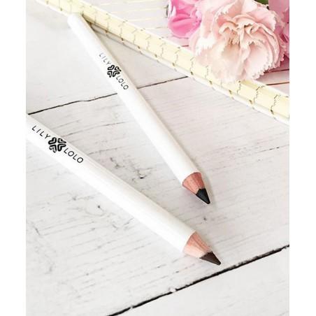 Lily Lolo Crayon Yeux naturel noir marron maquillage minéral beauté végétale yeux sensibles Paris doux crémeux onctueux