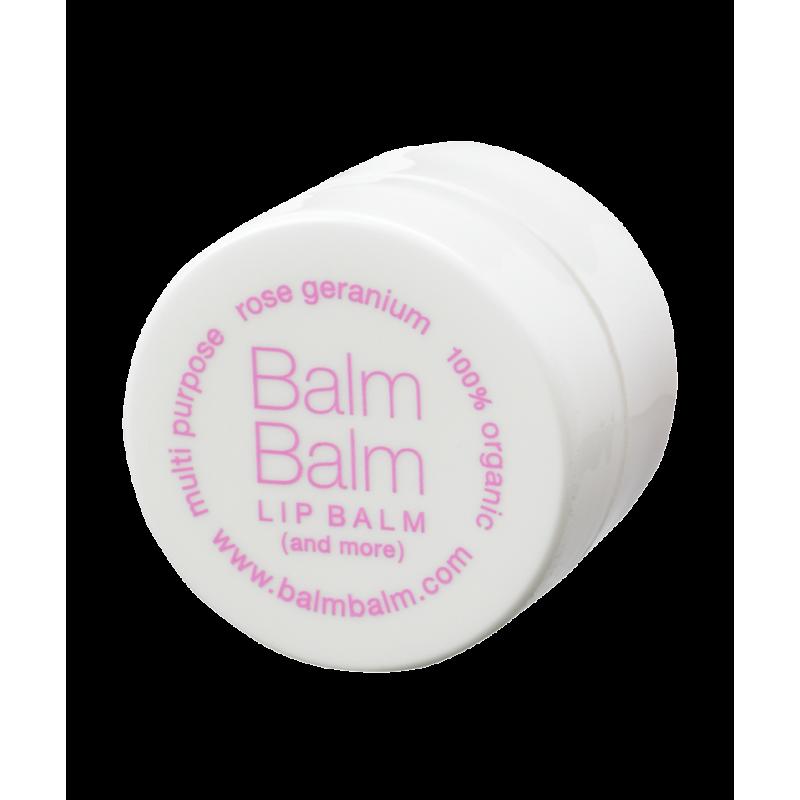 Balm Balm - Baume à Lèvres bio Géranium Rosat pot
