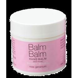 Balm Balm - Baume Mains bio Géranium de Rose