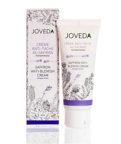 Joveda Saffron Anti-Blemish Cream vegan ayurvedic skincare night cream