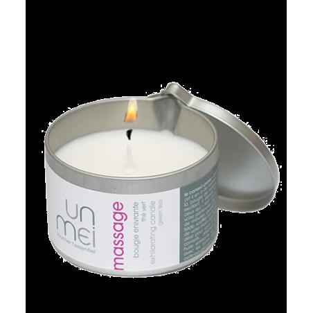 UNMEI - Exhilarating Massage Candle green tea
