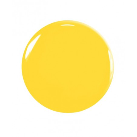 Manucurist Nail Polish GREEN Gold Button swatch yellow
