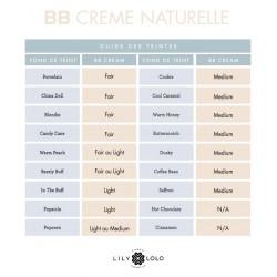 Lily Lolo maquillage minéral BB Crème Naturelle choix teintes correspondance fond de teint végétal beauté green vegan