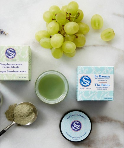 Soapwalla The Balm - Baume Concentré Réparateur bio naturel vegan cruelty free ingrédients