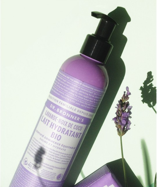 Dr. Bronner's Organic Body Lotion Lavender Coconut