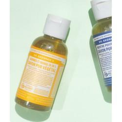 Dr. Bronner's - Savon Liquide Pur végétal bio Orange mini voyage