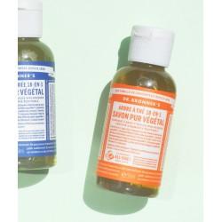 Dr. Bronner's Magic Soaps - Savon Liquide Pur Végétal Arbre à Thé Tea Tree (mini 60ml)