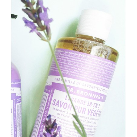 Dr. Bronner Organic Liquid Soap Lavender 475ml - 16 oz.