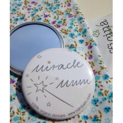 """Balm Balm - Petit Miroir de Sac """"Miracle Mum"""""""
