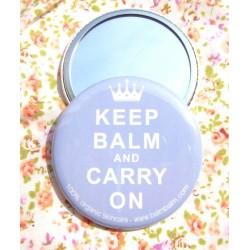 """Balm Balm - Petit Miroir de Sac """"Keep Balm"""""""