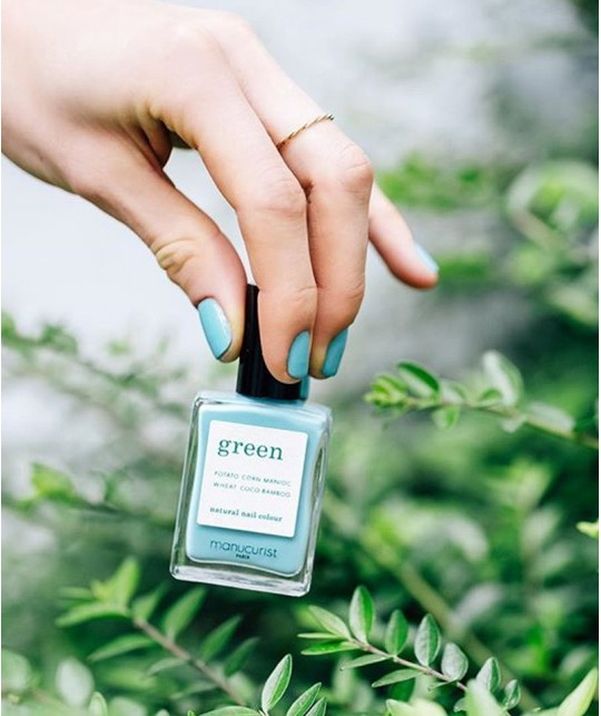Manucurist Green - Vernis naturel Seagreen vert lagon
