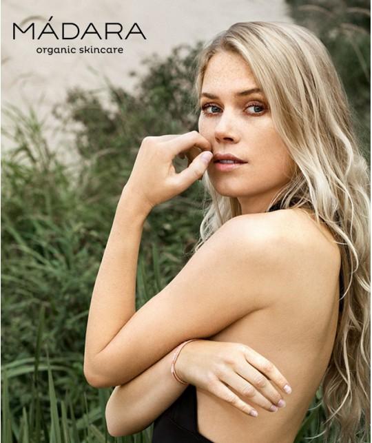 Madara cosmétique bio de la Baltique végétal plantes fleurs prairie naturel peau sensible Ecocert green beauté