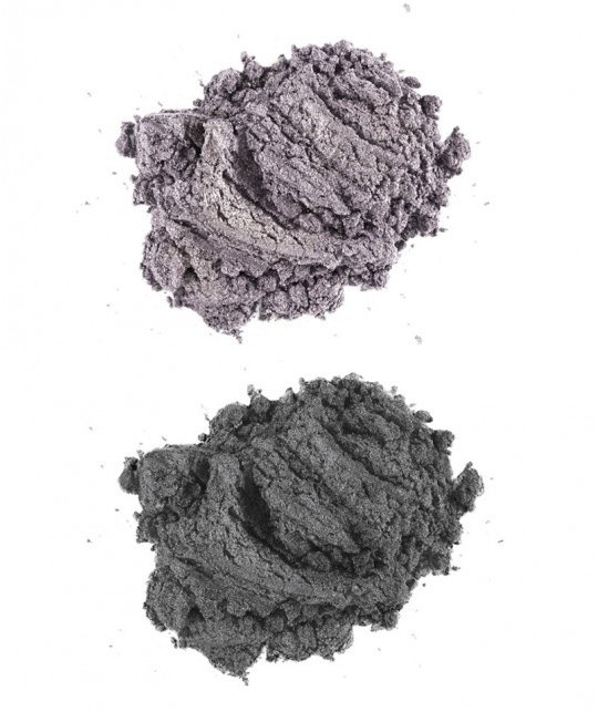 Lily Lolo - Smoky Grey Eye set mineral cosmetics natural beauty swatch