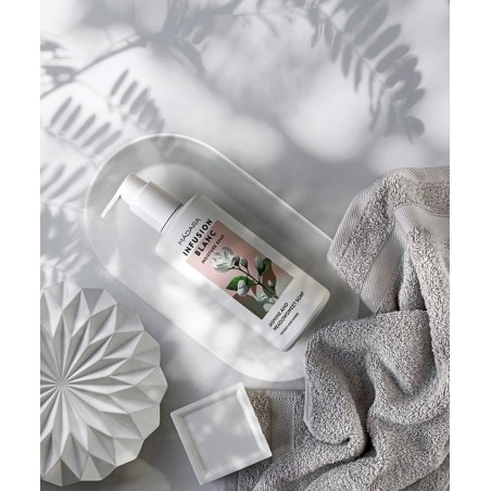 MADARA cosmétique bio Gel Douche bio hydratant Infusion Blanc jasmin naturel végétal savon corps