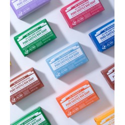 Dr. Bronner's Organic Bar Soap Peppermint